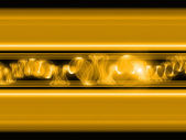 Golden Waves — Stock Photo