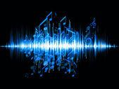 Sound-analyzer — Stockfoto