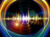 Música radial — Foto de Stock