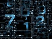 Numeric network — Stock Photo