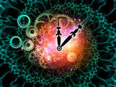 Wheels of time — Stock Photo