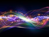 Resumen de las ondas sinusoidales — Foto de Stock
