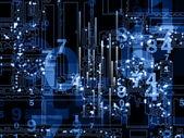Digital network — Stock Photo