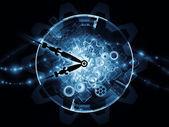 Tempo de processamento — Foto Stock