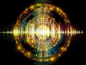 Analizador de sonido — Foto de Stock