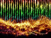 Sound visualisierung — Stockfoto