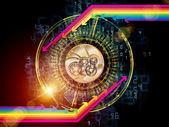 Versnellingen van technologie — Stockfoto