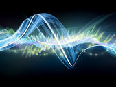 Light wave — Stock Photo