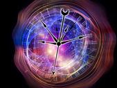 Riktningar av tid — Stockfoto