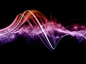 Abstract sine wave — Stock Photo
