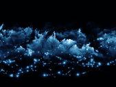 Worlds of fractal foam — Stock Photo