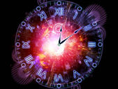 Time processing — Stockfoto