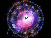 Abstract clock — Foto Stock