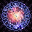 Royalty-Free Stock Photo: Horoscope dial
