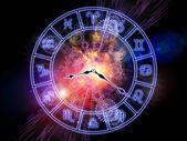 Space of Zodiac — Stock Photo