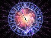Horoscope dial — Stock Photo