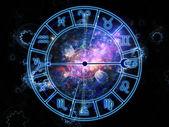 Zodiac abstraction — Stock Photo