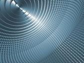 Schermata blu metallizzato — Foto Stock