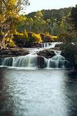 Waterfall close to Cradle Mountain Lodge — Stock Photo