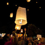 Loy Krathong festival — Stock Photo #8352746