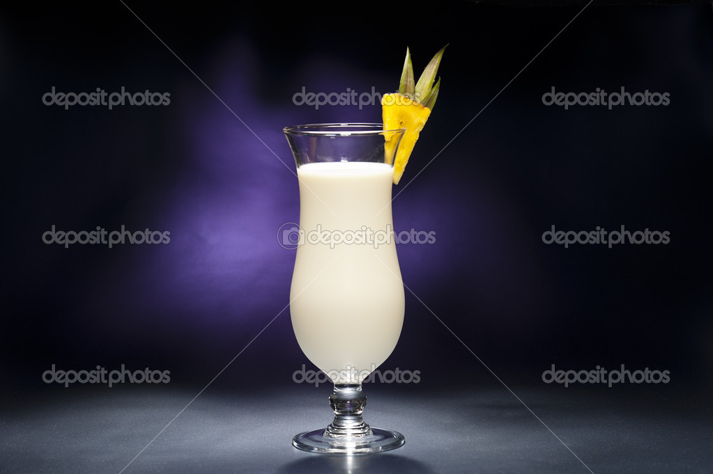 Pina Colada in front of beautiful background — Stock Photo #8353935