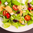Fresh Greek salad - Stock Photo