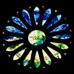 BARCELONA, SPAIN - December 15: The windows of La Sagrada Famili — Stock Photo #9552730