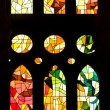 BARCELONA, SPAIN - December 15: windows of LSagradFamili — Stock Photo #9552740