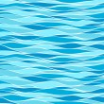 Seamless marine wave patterns — Stock Vector #9626891