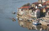 View of oporto ribeira — Stock Photo