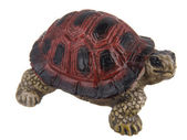 Ceramic figurine of a turtle — Stock Photo