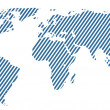 3d world map rendering — Stock Photo #9116029