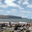 Stock Photo: Doolin beach with rock stacks
