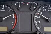 Control panel car — Stock Photo
