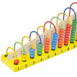 Children's wooden abacus — Stock fotografie