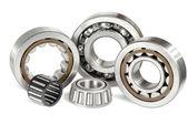 Five ball bearings — Stock Photo