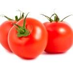 Three fresh tomatoes — Stock Photo #10243494