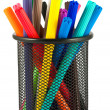 Set of felt-tip pens of different colors — Stock Photo #8353951
