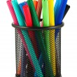 Stock Photo: Set of felt-tip pens of different colors