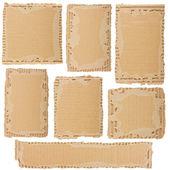 Kollektion von einem karton — Stockfoto