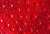 Abstract macro of water drops — Stock Photo