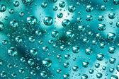 Soyut makro su damlaları — Stok fotoğraf
