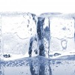 Pair of ice cubes — Foto de Stock