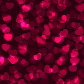 Valentine's Day romantic background. EPS 8 — Stock Vector