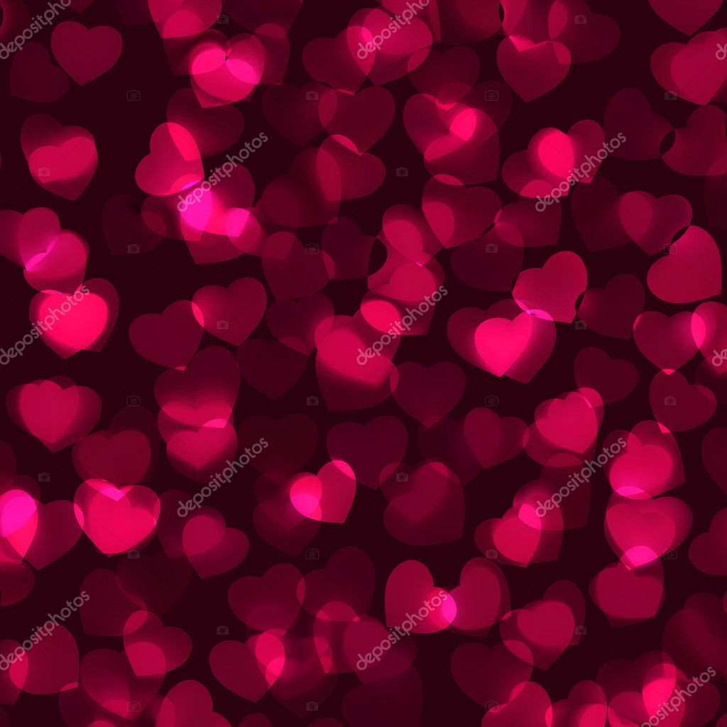 Valentine's Day romantic background. EPS 8 vector file included — Stock Vector #10028633