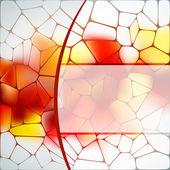 Plantilla de diseño de vidrieras. eps 8 — Vector de stock
