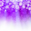 Stock Vector: Christmas light purple background. EPS 8