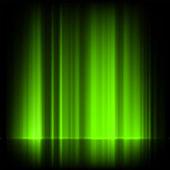 Verts aurores boréales, aurores boréales. eps 8 — Vecteur