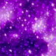 Glittery purple Christmas background. EPS 8 — 图库矢量图片