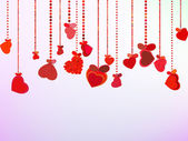 Valentinstag hintergrund. eps 8 — Stockvektor